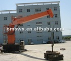 3t/8.5m Marine Electro Hydraulic Ship Deck Crane for sale