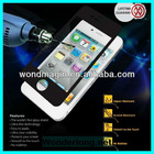 Premium Tempered Glass Screen Protector for iPhone 5, 0.4mm thick, Easy to Install