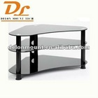 FLOOR LED LCD GLASS TV STAND
