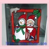 Christmas decoration gifts,soft pvc window stick,manufacturer selling.
