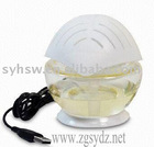 Humidifier with 3Wlow power consumption, avaliable in various colors.