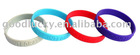 Fashion promotional gifts silicone bracelets