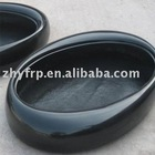 Oval FRP indoor planter