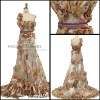 New style hot sale beaded evening dress wy348b