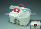 Medicine plastic storage container