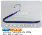 Towel rubber foam hanger