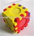 puzzle product,cube puzzle,foam cube puzzle