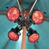 4X500W Radiant Patio Heater