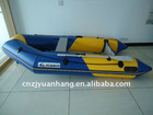 (CE) pvc material optional floor color inflatable dinghy boat 300