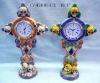 resin skull Table Clock,Desk Clock