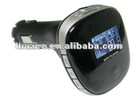 2012 hot sell Car MP3 fm transmitter with USB/SD/MMC slot