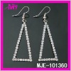 wholesale costume jewelry earrings with rhinestone
