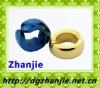 51003 fashion cute gold pure titanium earring