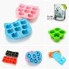 silicone ice tray/silicone ice cube tray/silicone tray imprint logo