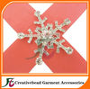 snowflake embellishment for Christmas cards decoration