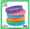 Free Promotion Gift Excellence Custom Cheap Silicone Bracelet