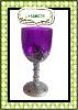 Halloween mug hallowmas plastic PS spider wine goblet LX-880006