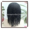 deep wave wig 16inch Indian remy hair lace front wig