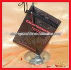 Transparent Black PVC Card Holder-SR-137