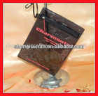 Transparent Black PVC Card Holder-SR-137