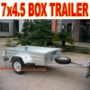 Galvanized Box Trailer 7 x 4.5 Trailer