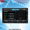 DVD-7034 7inch double din car dvd player with digital touchscreen
