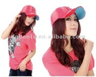 Embroidered unisex cotton torn new fashion cap