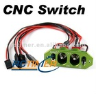 CNC Switch (2 Switches/2 Charge Jacks) - Green G02