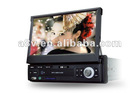 Special car dvd 1 din touch screen car dvd player with FM/AM,USB,SD,Bluetooth,I-pod,RDS,TV,GPS.4 camera function