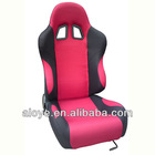 SPU Adjustable Racing Seat Red Fabric Auto Seat