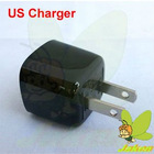 US USB Wall Travel Charger For Blackberry 9900