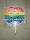 Large PP Handle Fan SCF-0017