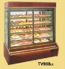 Supermarket Showcase/Refrigerated Display Cabinet With Glass Door