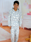 100% polyester printed coral fleece pajama