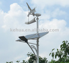 Solar-Wind Hybrid LED Street Light