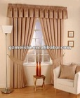 hot sale 100% polyester plain dyed window curtain