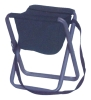 Camping chair with bag for fishing or hunting