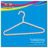 design hanger Pearl bead hanger for clothes,clothes hanger