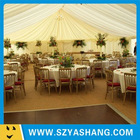 decoration for wedding tent