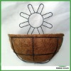 decorative wire wall baskets for flowers