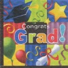 Color printing paper napkin for graduation party