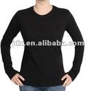 Custom logo longsleeve T-shirt for lady