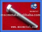 Gr2 DIN 933 titanium screw titanium bolt