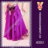 Beautiful belly dance skirt wholesale with good materials and fabric