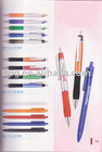 metal &rubber pen,office pen,click plastic pen,
