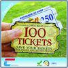 Custom Design PVC Ticket Card