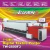 ICONTEK TW-2600F3 Max 150sqm/hr Flags banners printer