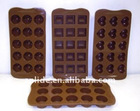 hot sale silicone chocolate mold