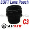 "C3 SOFT Lens Pouch Case 90mm x 120mm / 3.54"" x 4.75 """