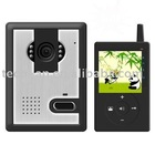 wireless digital color video door bell for home and office